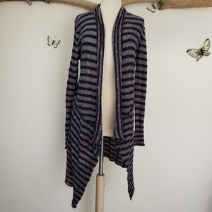 Free People Sweaters - Free people forget me not long striped cardigan
